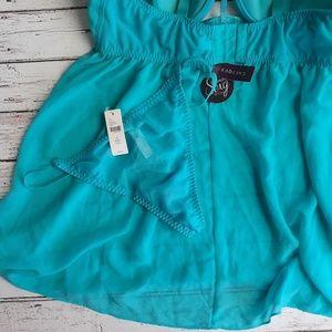 Cacique Intimates & Sleepwear - NWT CACIQUE Lingerie Underwire Babydoll Teal 40DD